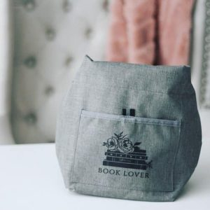 book lover lunch tote