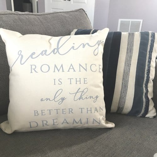 Romance Throw Pillowcase