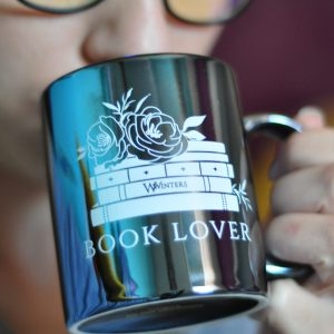 Book Lover Metallic Mug