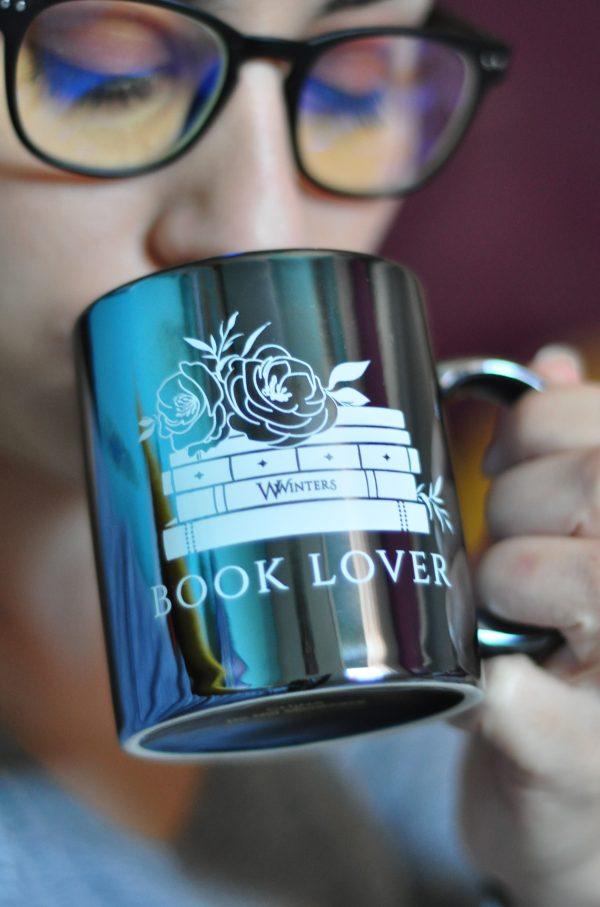 Book Lover Metallic Mug