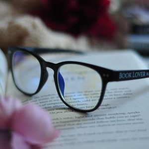 Book Lover Blue Light Glasses