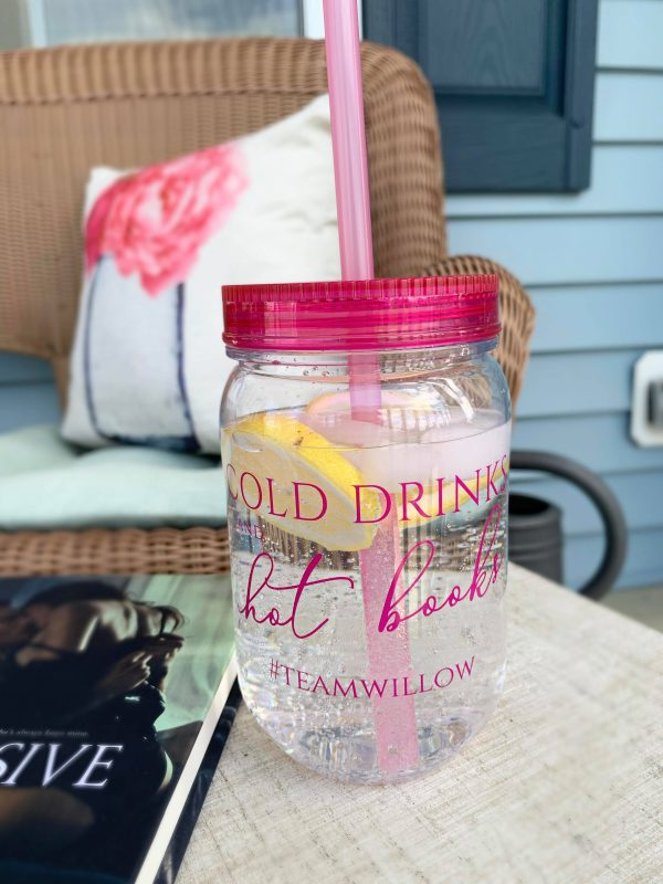 Cold Drinks & Hot Books Tumbler