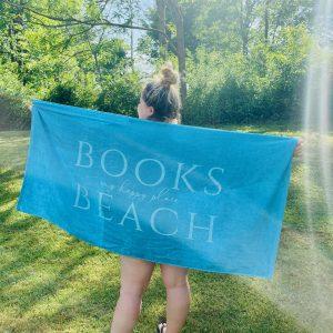 Book Lover Beach Towel