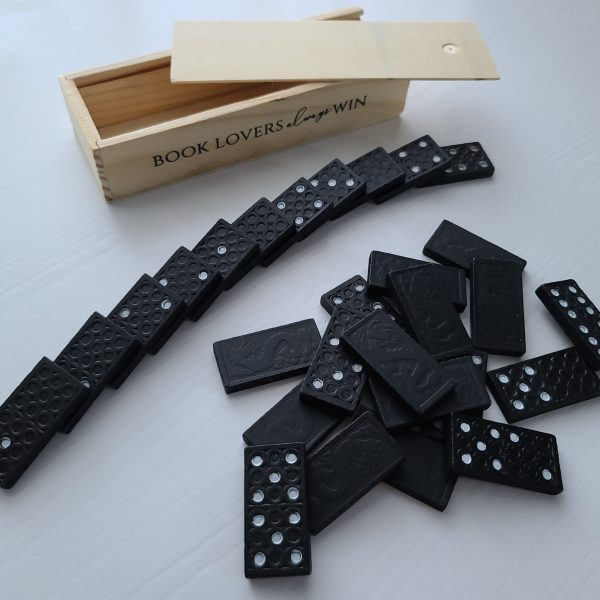 Book Lovers Always Win Dominos