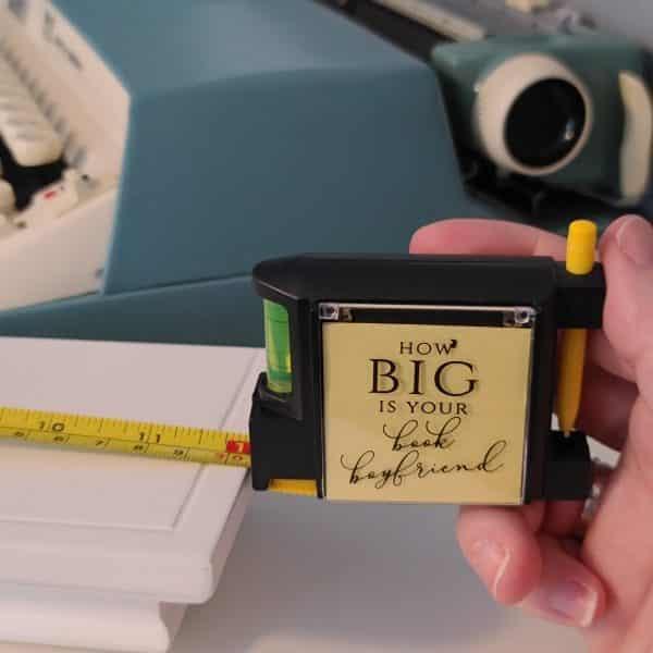 Book Lover Tape Measure