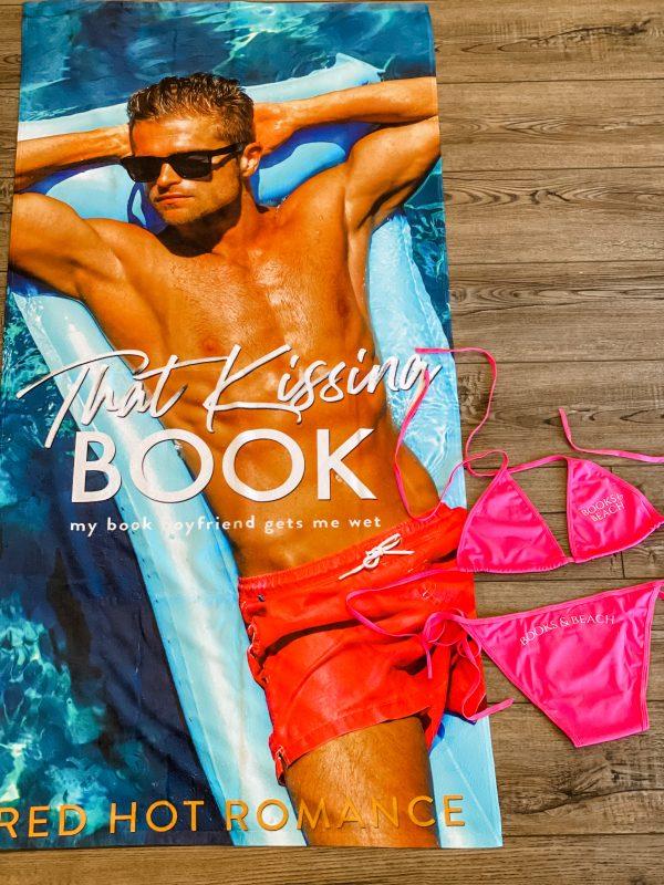 Book Boyfriend Beach Towel