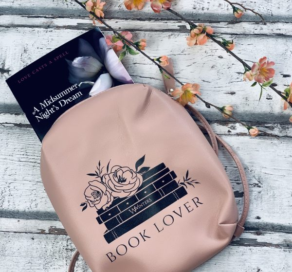 Book Lover Leather Backpack