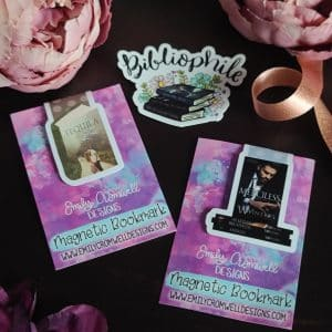 Bibliophile Stickers & Bookish Magnetic Bookmarks