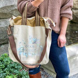 Book Lover Canvas Bag